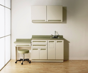 Ordinaire Exam Room Cabinets, Or Commonly Called Casework, Creates An Efficient  Workflow Exam Area. The Casework Is Usually Modular In Design In Order To  Fit The ...